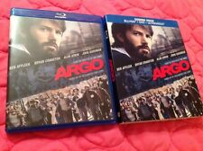 ARGO BLU-RAY + DVD 2012 MOVIE BEN AFFLECK