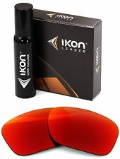Polarized IKON Iridium Replacement Lenses For Oakley Sideways + Red Mirror