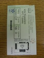 08/02/2015 Ticket: KSV Roeselare v AFC Tubeke. Trusted sellers on ebay bobfranka