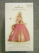 Nice 2009 Hallmark Celebration Barbie Ornament; #10 In Celebration Barbie Series