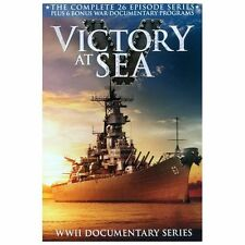 Victory at Sea Complete 26 Episode Series NIB DVD, 2013, 3-Disc Set, Tin Case)