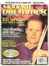MODERN DRUMMER MAGAZINE BILL STEWART STEVEN DROZD THE FLAMING LIPS TONY WIL