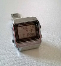 Rare Vintage CASIO DATA BANK TELEMEMO 50 LCD Watch D5-310