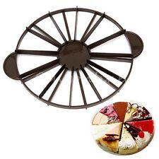 Gâteau Pizza Patisserie Diviseur Moule Coupe Découpe Cutter Slicer 10/12 Parts