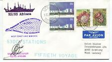 1981 RS NS Africana Fisheries Research Institute Polar Antarctic Cover SIGNED