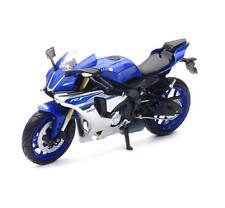 New-Ray Toys Yamaha  YZF R1 Road Bike - Blue - 1:12 Scale Model