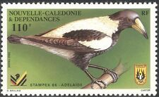 New Caledonia 1986 Magpie/Birds/Nature/Wildlife/StampEx 1v (n44071)