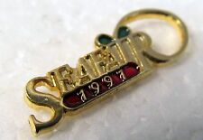 1991 SEATTLE SEAFAIR EXECUTIVE tie tack pinback button Hydroplane Boat racing