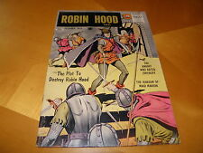 Robin Hood Tales #6 Dec 1956 Matt Baker cv/art King Richard the Lion-Hearted VG
