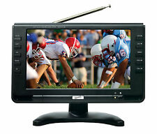SuperSonic SC499 9 LCD Portable Digital TV with ATSC/NTSC Tuner & AC/DC SC-499D