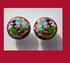 2 MICKEY MOUSE KIDS BOYS DRESSER DRAWER KNOBS BY ORDER