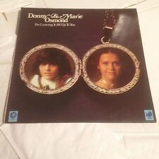 Donny & Marie Osmond - I'm Leaving It All Up To You - LP VINYL (1974) Pop 1970s