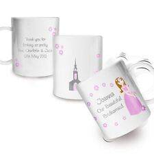 Fabulous Personalised Plastic Drinks Cup For Little Bridemaid Thank You Gift