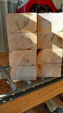 Maple Wood Turning Bowl Blank Block - 5 x 5 x 3 Thick LOT OF 8