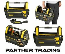 "Stanley FatMax Extra Tough 18"" Open Tote Tool Bag Waterproof Base - 1-93-951"