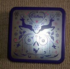 Cadburys biscuit tin Christmas reiindeer