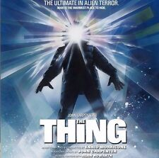 THE THING Ennio Morricone / John Carpenter  2 CD COMPLETE SOUNDTRACK