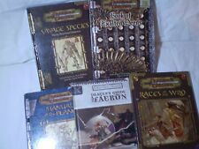 Collection 5 X DUNGEONS & DRAGONS BOOKS MANUAL -EXALTED DEEDS, SAVAGE SPECIES...