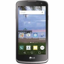 LG TFLGL43AGP4P Tracfone Rebel 4G LTE GSM WiFi 8GB 1.1GHz BT 4.1 Smartphone