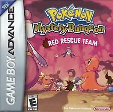 Pokemon Mystery Dungeon Red Rescue Team, (GB Advance)