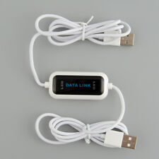 USB2.0 PC To PC Online Data Link File Transfer Cable High Speed Easy Copy