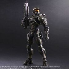 Play Arts Kai Halo 5 Guardians Master Chief PVC Action Figure Statue 3D Model
