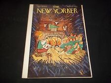 1949 JULY 30 NEW YORKER MAGAZINE - BEAUTIFUL FRONT COVER FOR FRAMING- J 1358