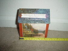 100 PC. (CEACO) THOMAS KINKADE (THE END OF A PERFECT DAY) MINI JIGSAW PUZZLE NEW