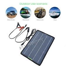 12V 10W PV Solar Panel Solar Module for Car RV Boat Caravan Battery Charger