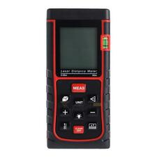 XD#3 Laser Distance Meter 50m 164ft with Bubble Level Tool Measure Tape Range