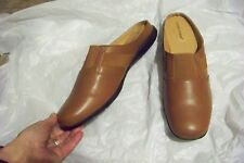 womens comfortview sarah brown mules shoes size 12