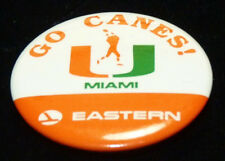 University of Miami Hurricanes Canes UM Football Miami Florida Eastern Airlines