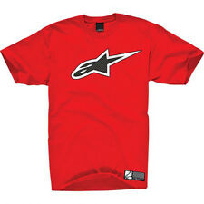 Alpinestars Carbon Fiber Logo Tee (XL) Red