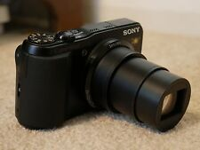 Sony Cyber-shot DSC-HX20V 18.2MP Digital Camera - Black