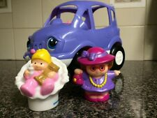 Fisher Price Little People Van, Mom And Baby