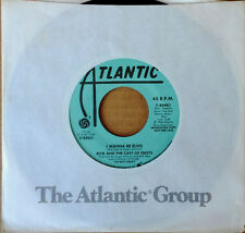 RICK (DEES) AND THE CAST OF IDIOTS - I WANNA BE ELVIS - ATLANTIC 45 - PROMO -'85