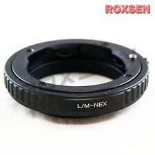 Roxsen Leica M L/M mount LM lens to Sony E mount adapter NEX-5T A7 A7R as Kipon