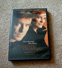 """The THOMAS CROWN Affair"" Movie starring Pierce Brosnan & Rene Russo on DVD"