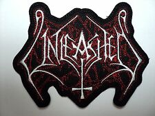 UNLEASHED  SHAPED  LOGO     EMBROIDERED  PATCH