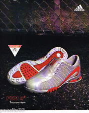 PUBLICITE ADVERTISING 085  2004  ADIDAS  chaussures baskets  F50 a3