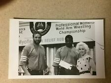 Imperial Palace Professional Women's Arm Wrestling Championship Photograph 1985