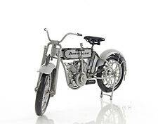 "Harley-Davidson Model 7D Twin 1911 Motorcycle Metal Model 12.5"" Automotive Decor"
