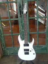 Ibanez RG2EX2 Solid Body Electric Guitar in White w/ Black Binding