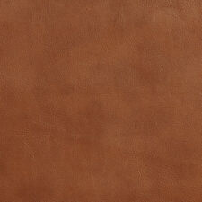 G642 Brown Smooth Small Leather Grain Upholstery Recycled Leather By The Yard