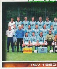 356 MANNSCHAFT 1/2 DEUTSCHLAND TSV 1860 MÜNCHEN STICKER BUNDESLIGA 2001 PANINI