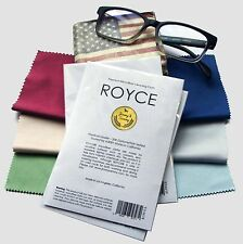 Six ROYCE Brand Microfiber Cleaning Cloth for LCD screen, Camera Lens, Glasses