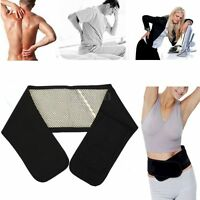 Infrared Magnetic Lower Pain Back Support Lumbar Brace Belt Double Pull Strap