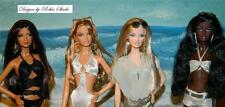 On Location Model Muse Barbies~2005~2006~All 4 Dolls in Swimsuits