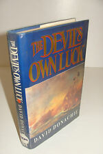The Devil's Own Luck by David Donachie UK 1st/1st 1991 Macmillan Hardcover