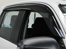 TOYOTA HILUX WEATHERSHIELDS SLIMLINE SET OF 4 TINTED DUAL CAB UTE ONLY JULY 15